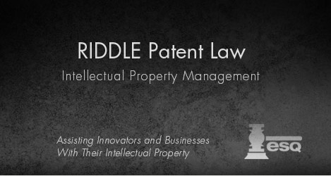Riddle Patent Law | Charles Riddle | Patents, Trademarks, Copyrights | Scranton PA Index Image1
