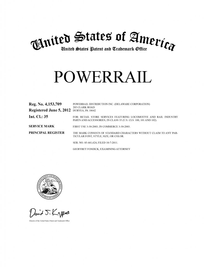 Trademark Application Granted for BACKTRACK. Riddle Patent Law, Allentown, PA, Scranton, PA, King of Prussia, PA, Duryea, PA