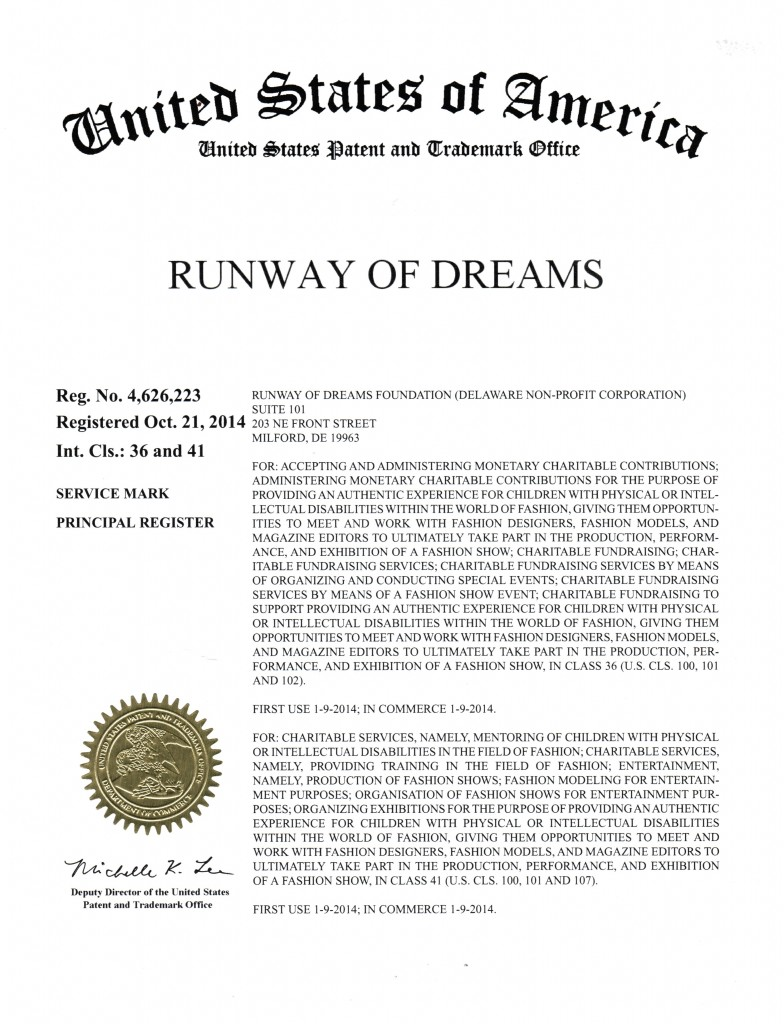 RUNWAY OF DREAMS 4626223
